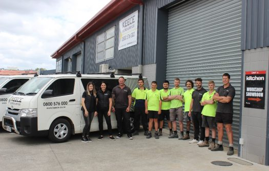 New HQ for Keece NZ